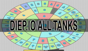 diep.io all tanks